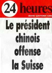 Manchette de 24 Heures du 26 mars 1999