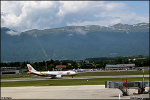 5 ans de la ligne directe Beijing-Genève par Air China
