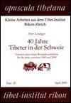 Peter LINDEGGER - 40 Jahre Tibeter in der Schweiz
