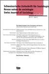 Revue suisse de sociologie