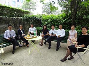 Une délégation de la ville de Changzhou en visite à Lausanne