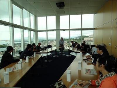 La SRSSC reçoit une délégation du Fujian