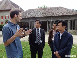 Visite d'une délégation de Zhenjiang