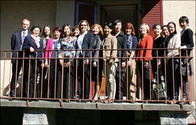 Accueil d'une délégation de l'Association des femmes de la province d'Anhui