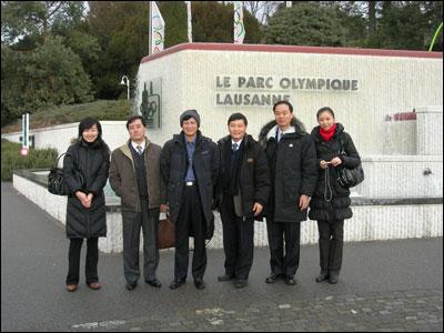 Visite en Suisse d'une délégation de l'Association du peuple chinois pour l'amitié avec l'étranger (CPAFFC)