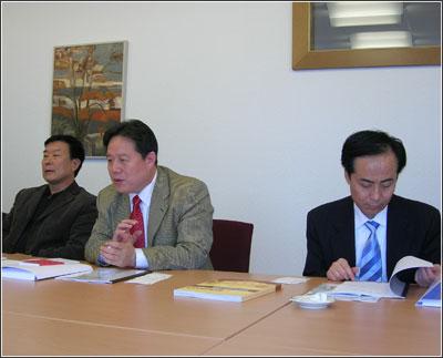 Rencontre avec une délégation de la Municipalité de Xi'an