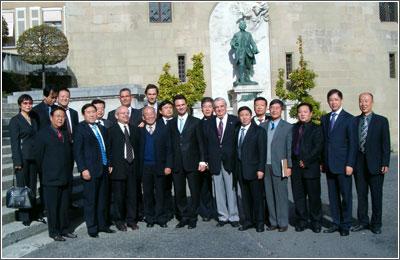 Accueil d'une délégation de la province du Shaanxi