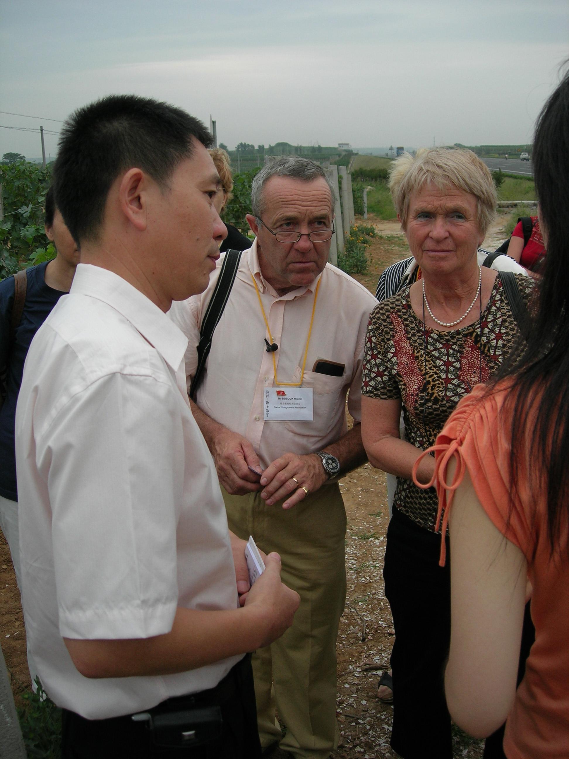 Voyage d'étude dans les domaines de la viticulture et de l'arboriculture