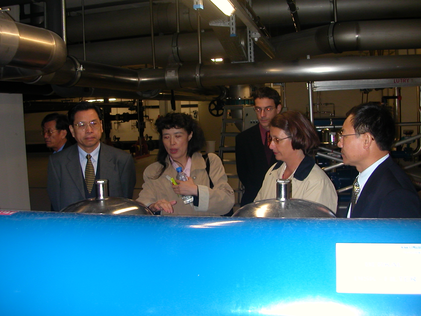 Rencontre avec une délégation de l'Assemblée populaire de la ville de Xi'an