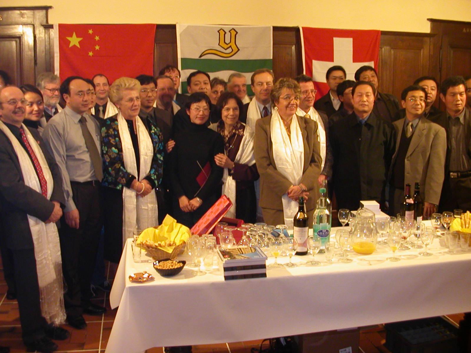 Rencontre avec une délégation de la province du Qinghai