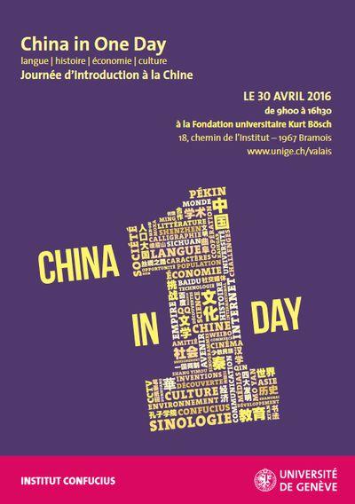 <em>China in One Day</em> - En Valais !