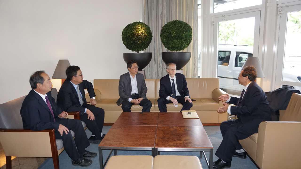 Signature d'un protocole d'entente avec le Ningxia
