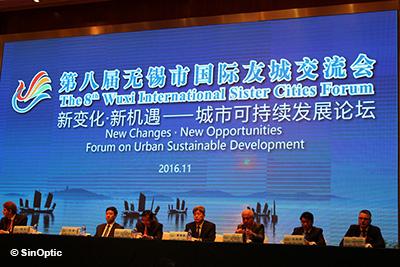 8e Forum des villes jumelées de Wuxi