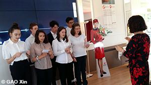 4e anniversaire de la présence d'Air China à Genève