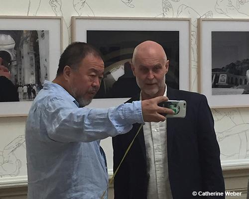 Avant-premi&egrave;re de l'exposition d'AI Weiwei - <em>D'ailleurs c'est toujours les autres</em>