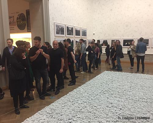 Vernissage de l'exposition d'AI Weiwei - <em>D'ailleurs c'est toujours les autres</em>