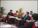 BR Doris LEUTHARD mit Bürgermeister ZHANG Guangning, Guangzhou
