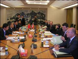 Beijing - 27 octobre 2006 - rencontre au Ministère chinois des affaires étrangères
