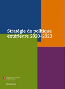 DFAE - Stratégie de politique extérieure 2020-2023