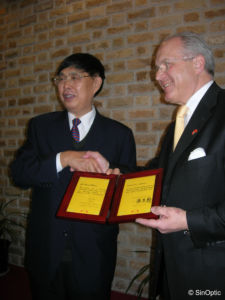 Dr Thomas WAGNER - Ambassadeur d'amitié de la CPAFFC